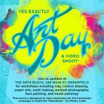 Yes Exactly Art Day and Video Shoot