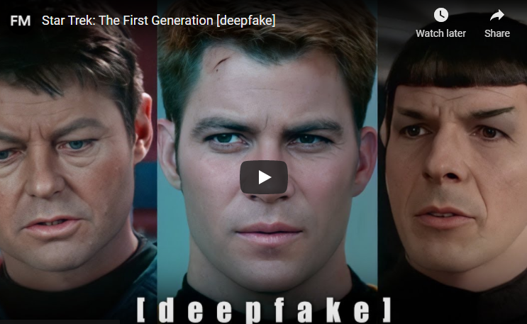 Star Trek Deepfake